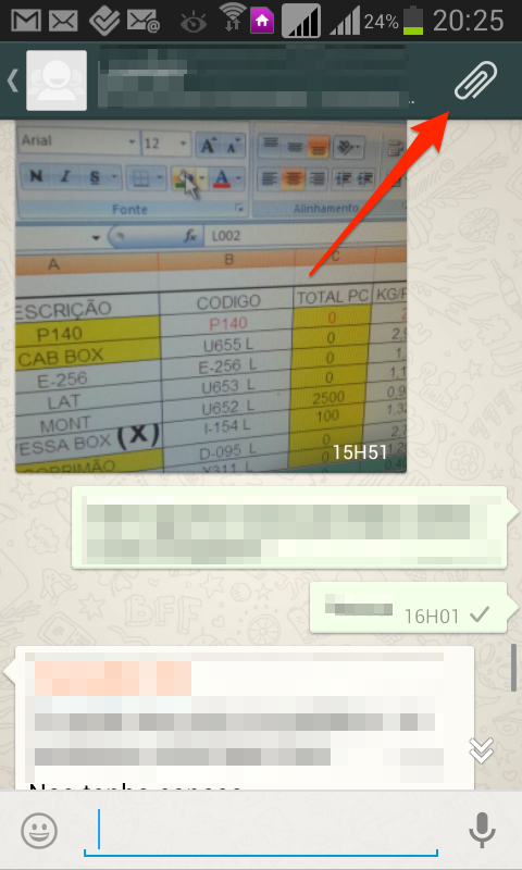 anexar documentos no whatsapp