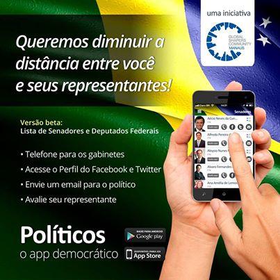 aplicativo para avaliação de políticos